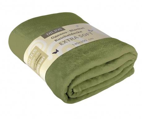 Patura Extra Soft Verde 140x200 cm