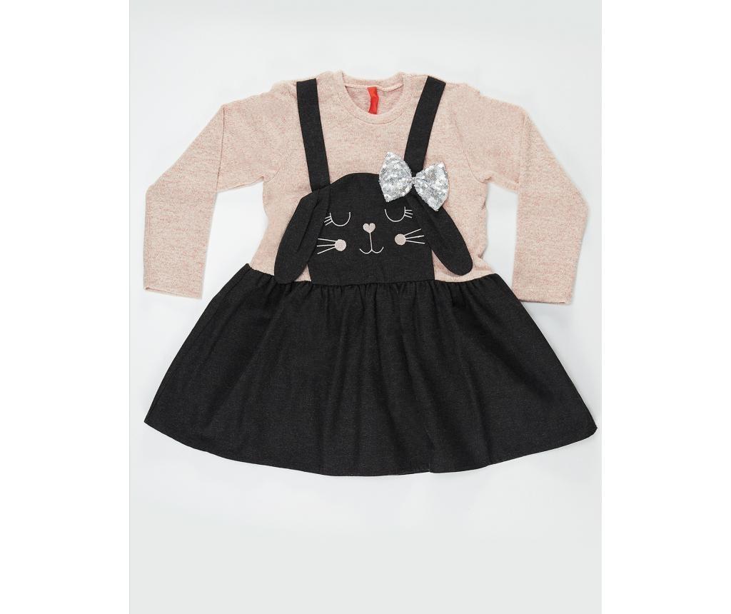 Dječja haljina Black Bunny 7 god.