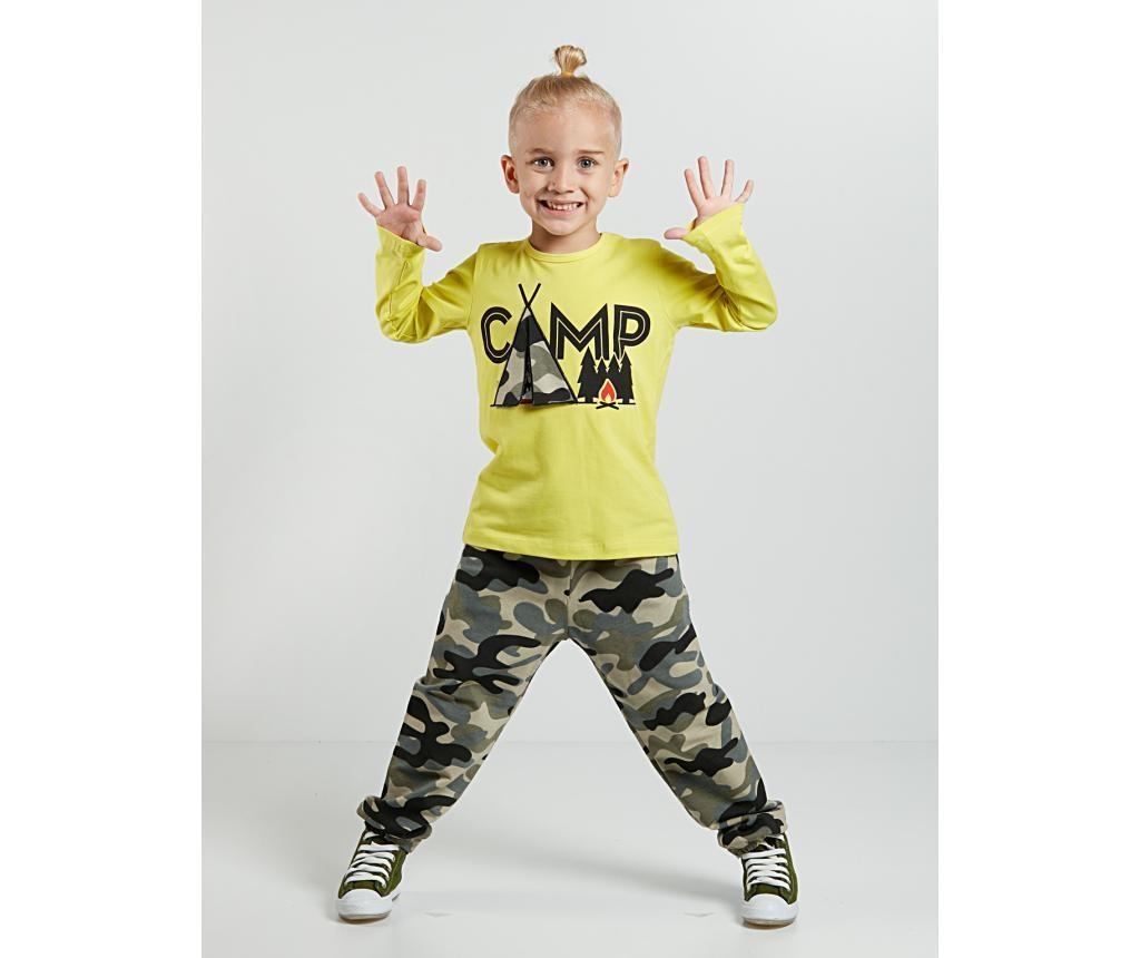 Set bluza si pantaloni pentru copii Military Camp 6 ani