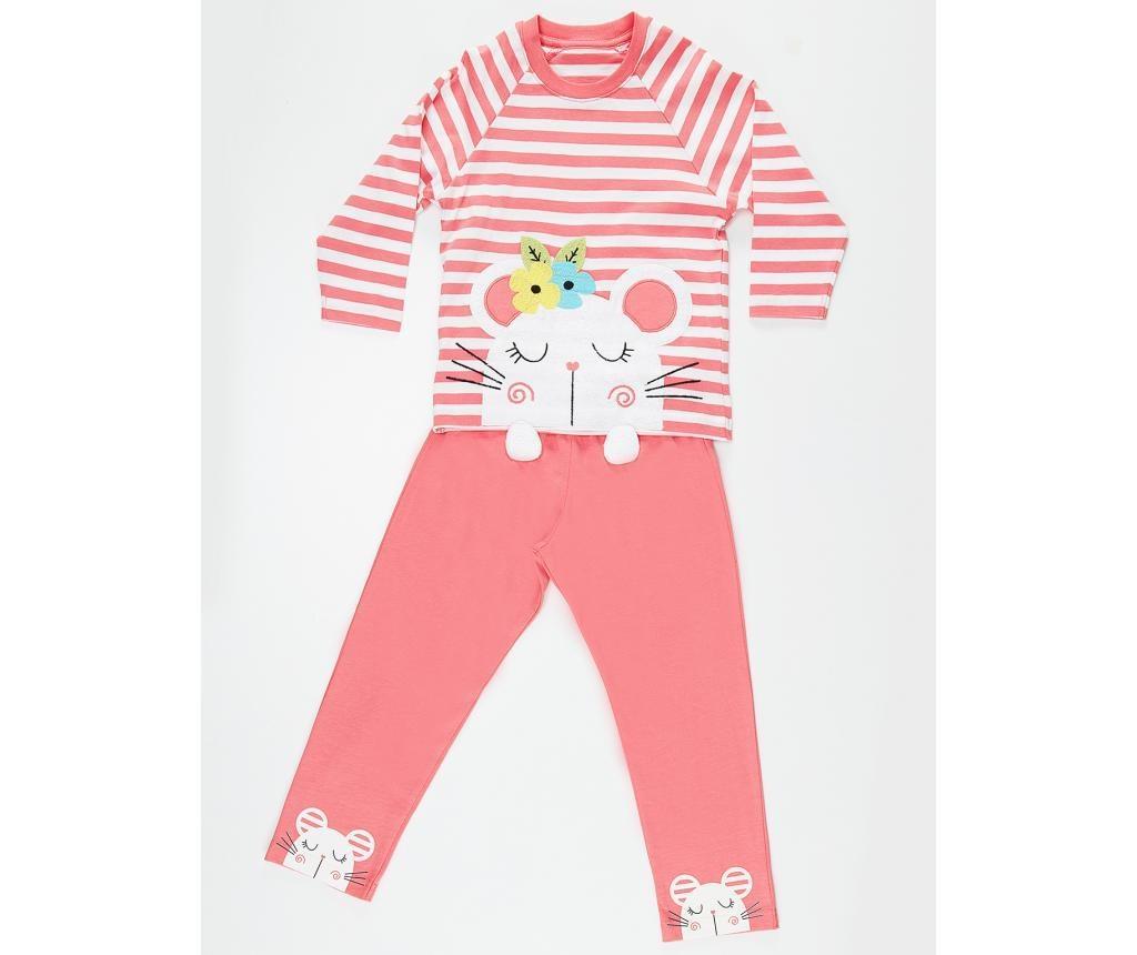 Pijama pentru copii Little Mouse 2 ani