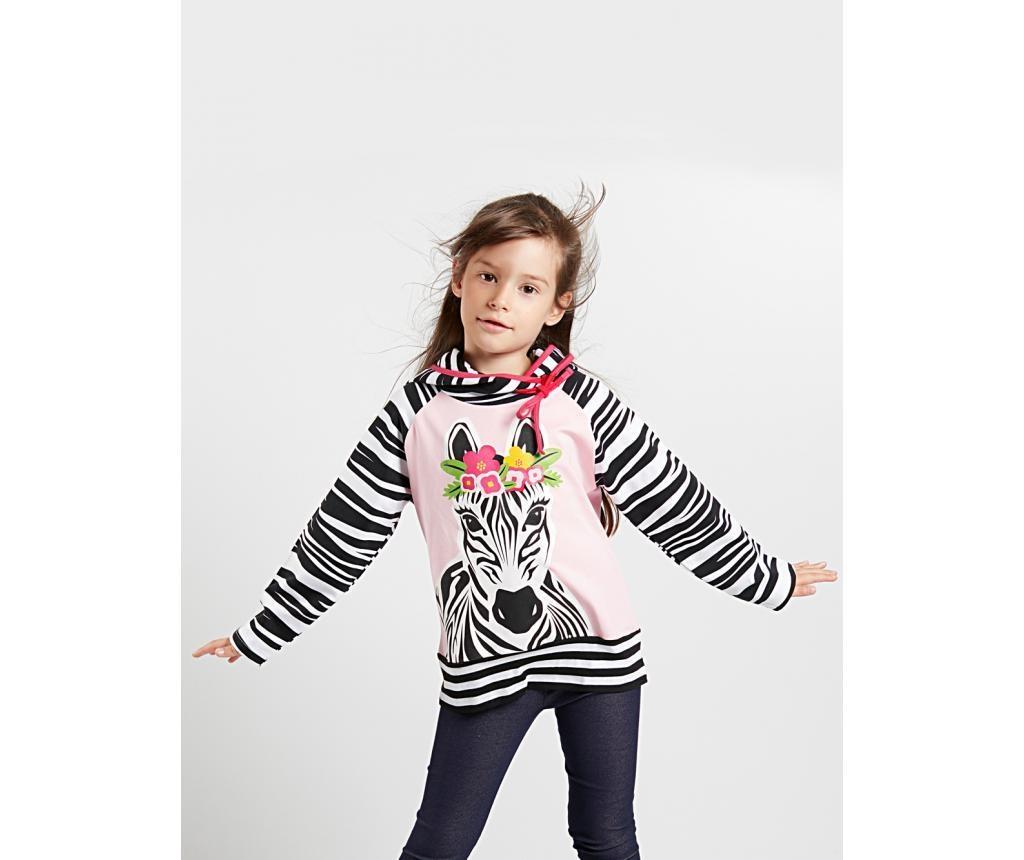 Hanorac Zebra Girl 3 ani