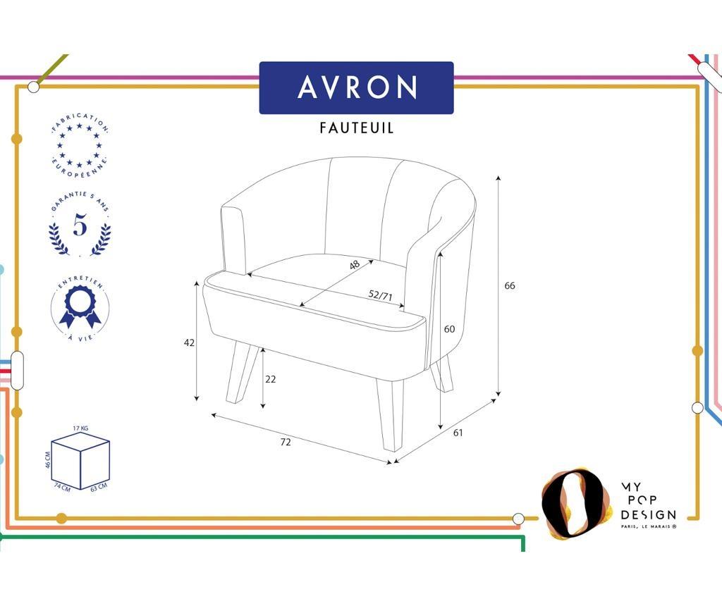 Avron Uni Fotel