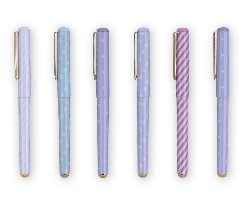 Set 6 kemijskih olovki