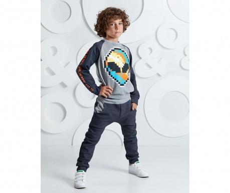 Set bluza si pantaloni pentru copii Alien 8 ani