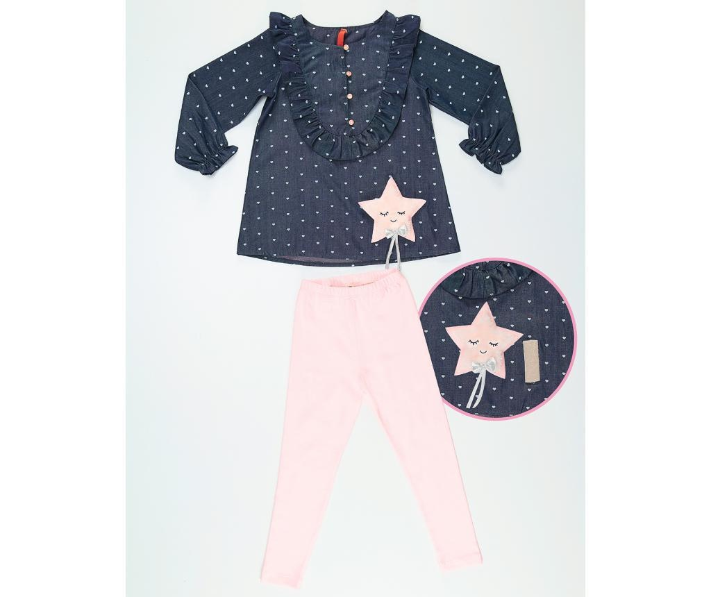 Set bluza si colanti pentru copii Star 4 years
