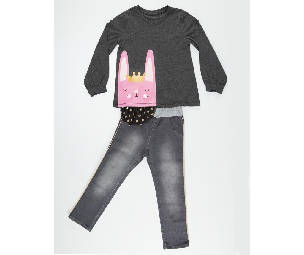 Set bluza si pantaloni pentru copii Bunny 8 years