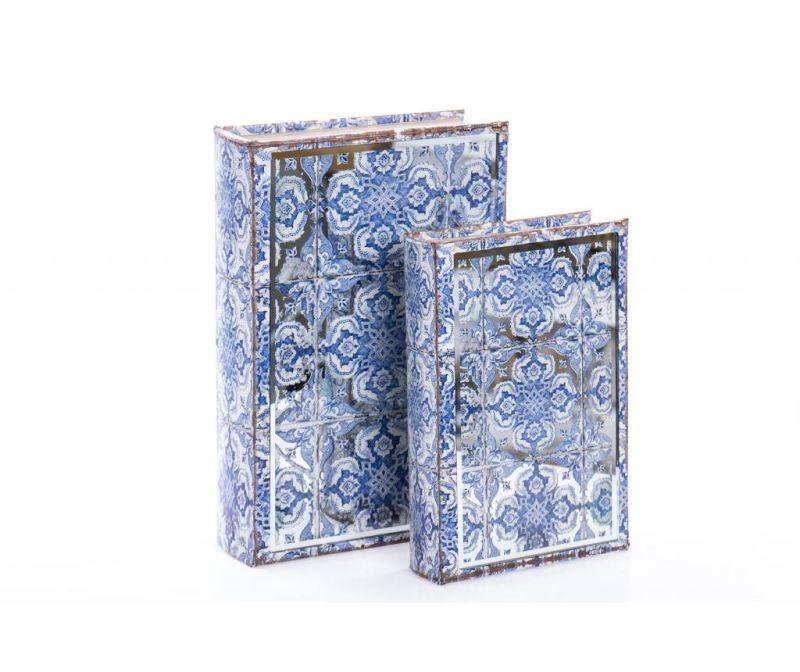 Set 2 kutije tipa knjige Madelle