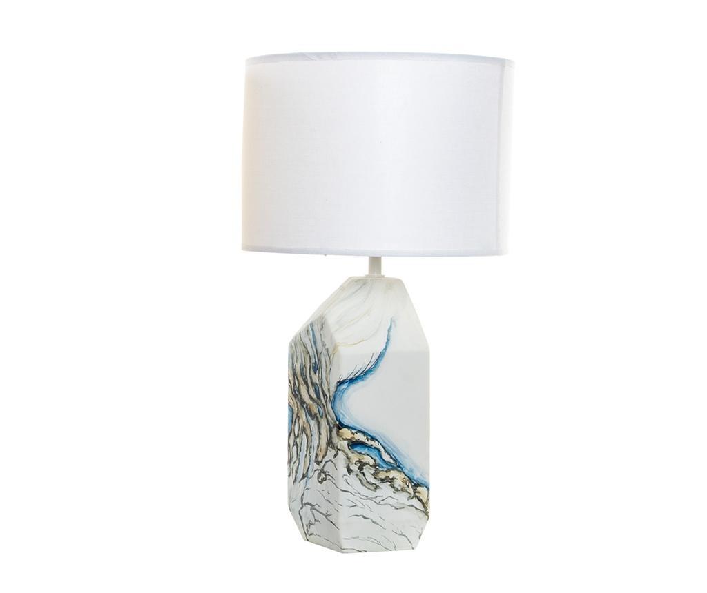 Stolna lampa Geometric White