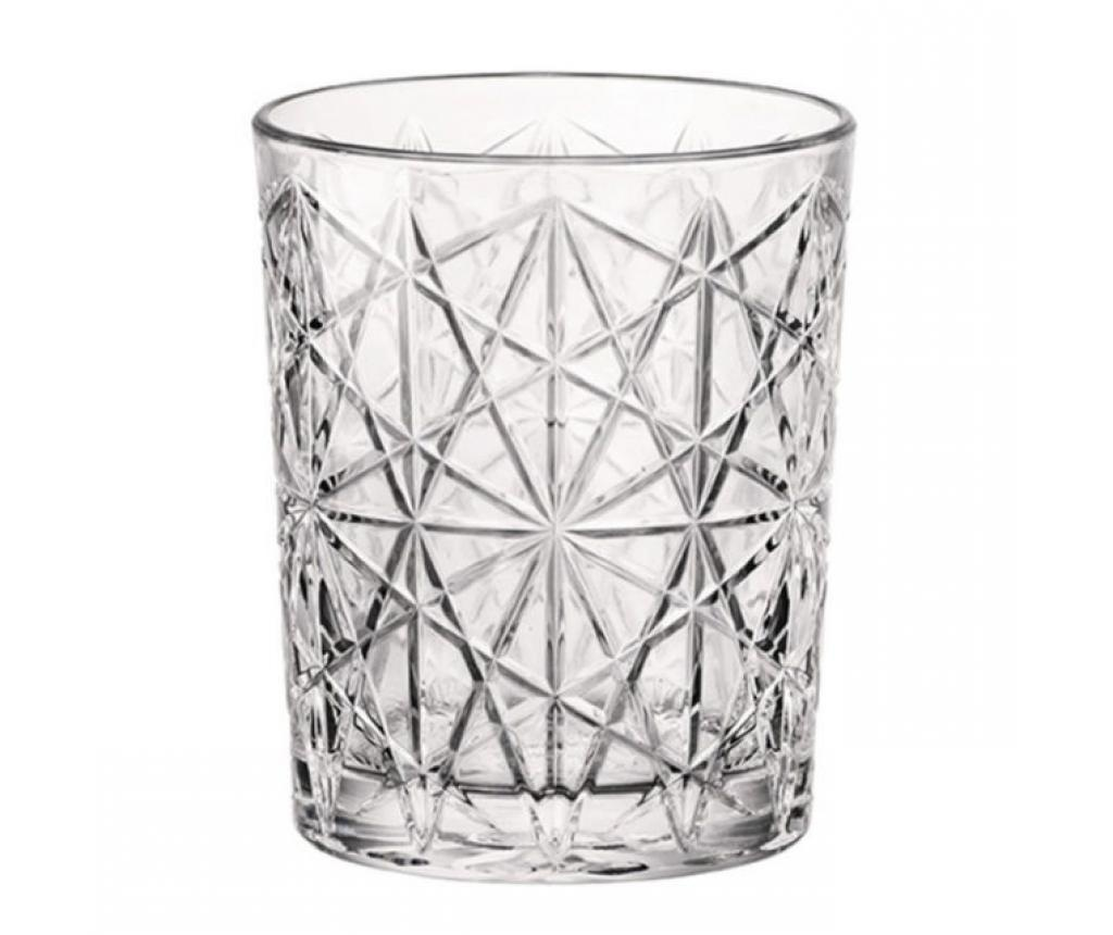 Set 4 pahare Lounge Transparent 390 ml