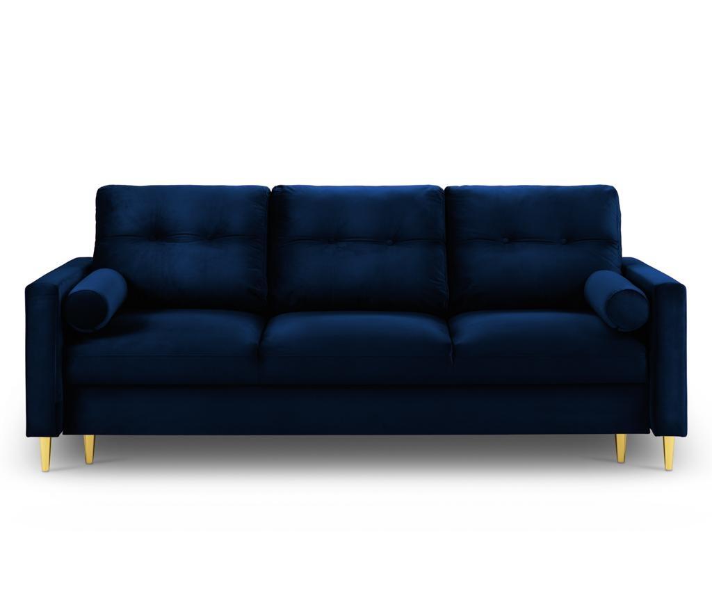 Canapea extensibila 3 locuri Tokyo Royal Blue