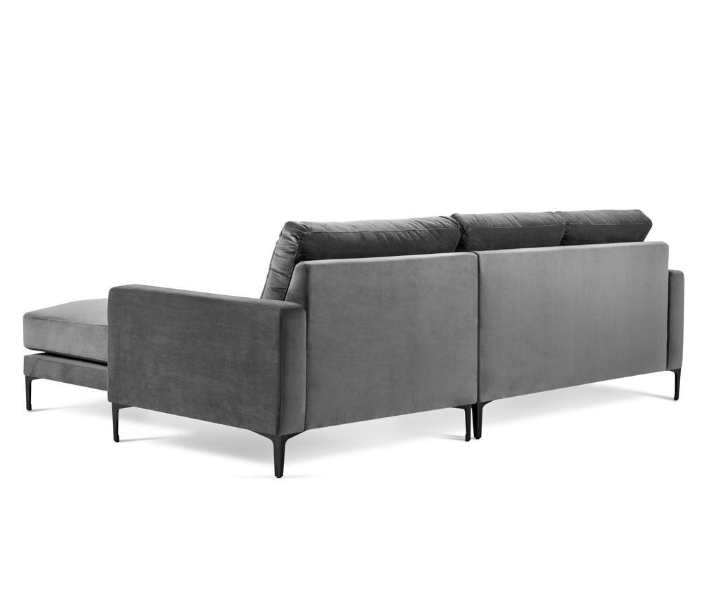 Desna kutna sofa četvorosjed Harmony Grey