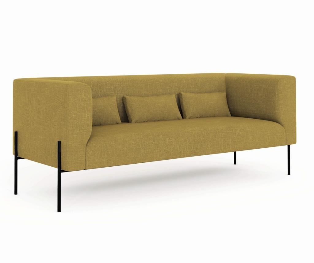 Sofa dvosjed Nina Yellow