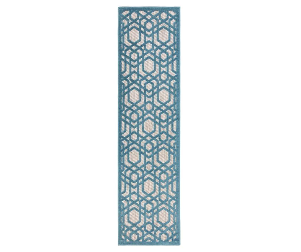 Covor Oro Blue 66x300 cm