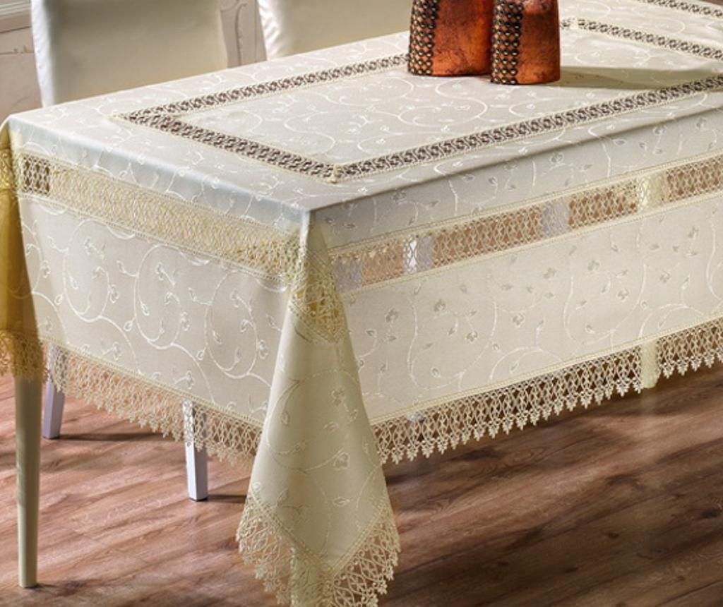 Stolnjak Neve Cream 160x160 cm