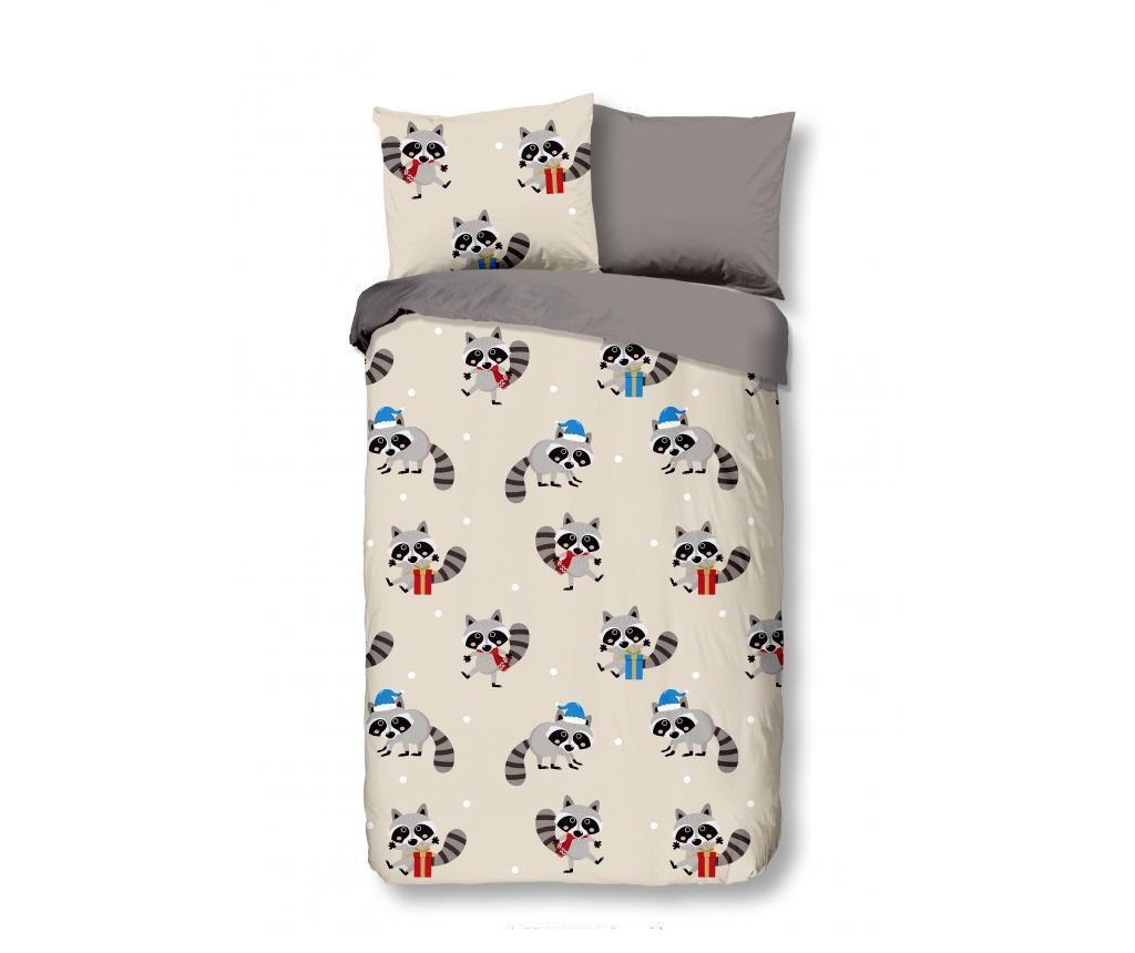Otroška posteljnina Single Flannel Hello