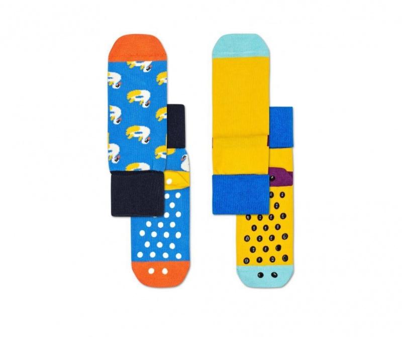 Set 2 parov otroških nogavic Swan Anti-Slip s 2-3 let