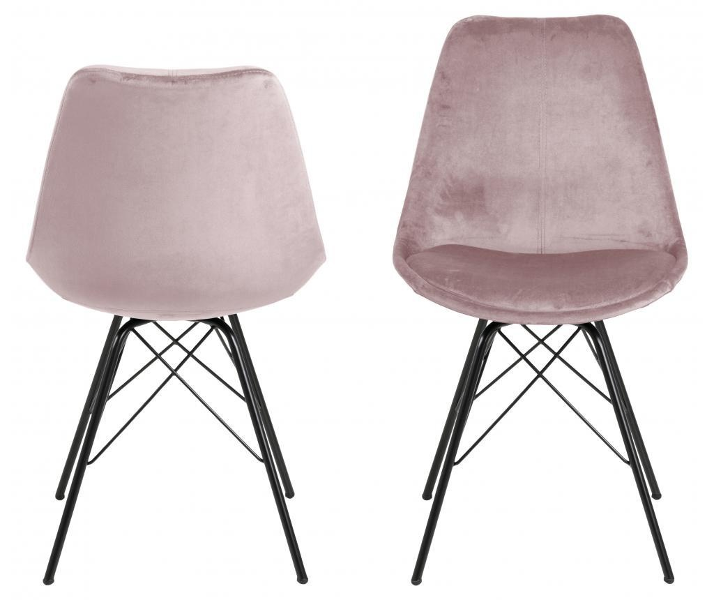 Комплект 2 трапезни стола Eris Pink
