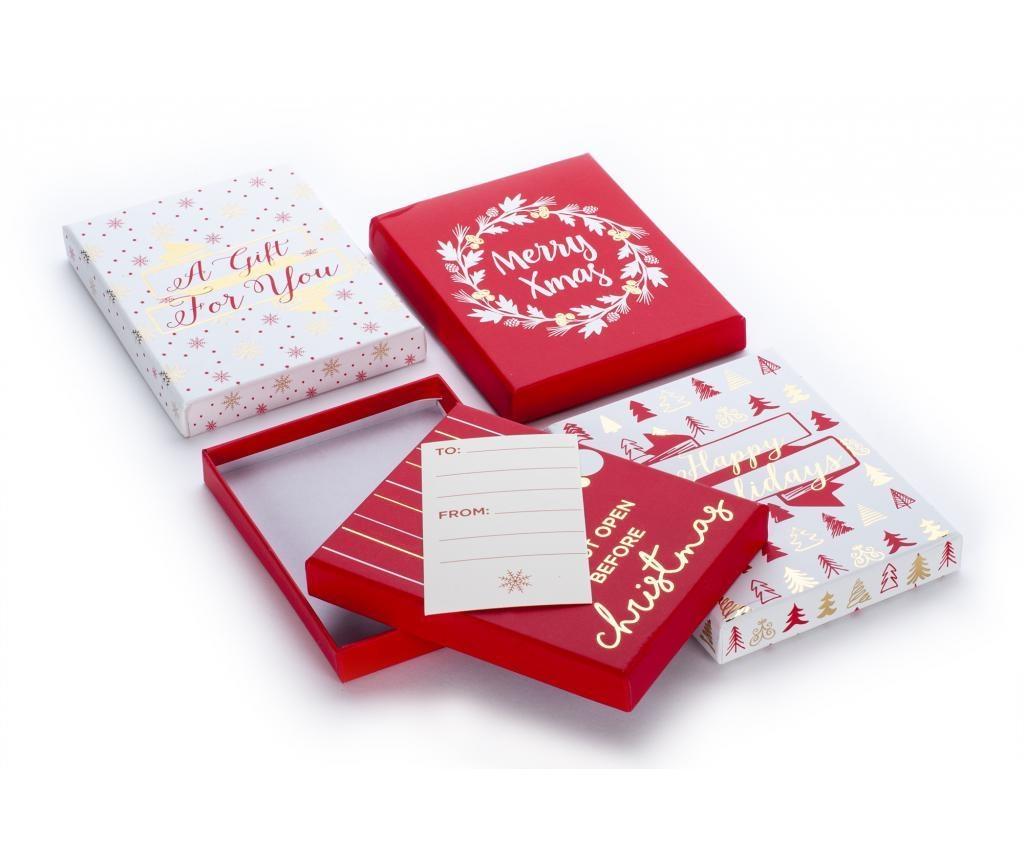 Set 4 držača za kartice