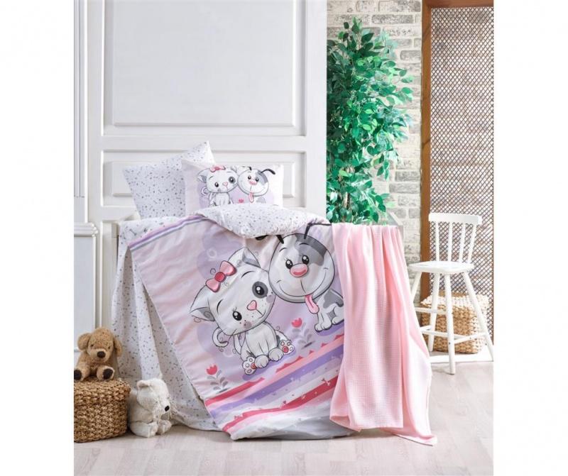Posteljina za krevetić Besties Girl