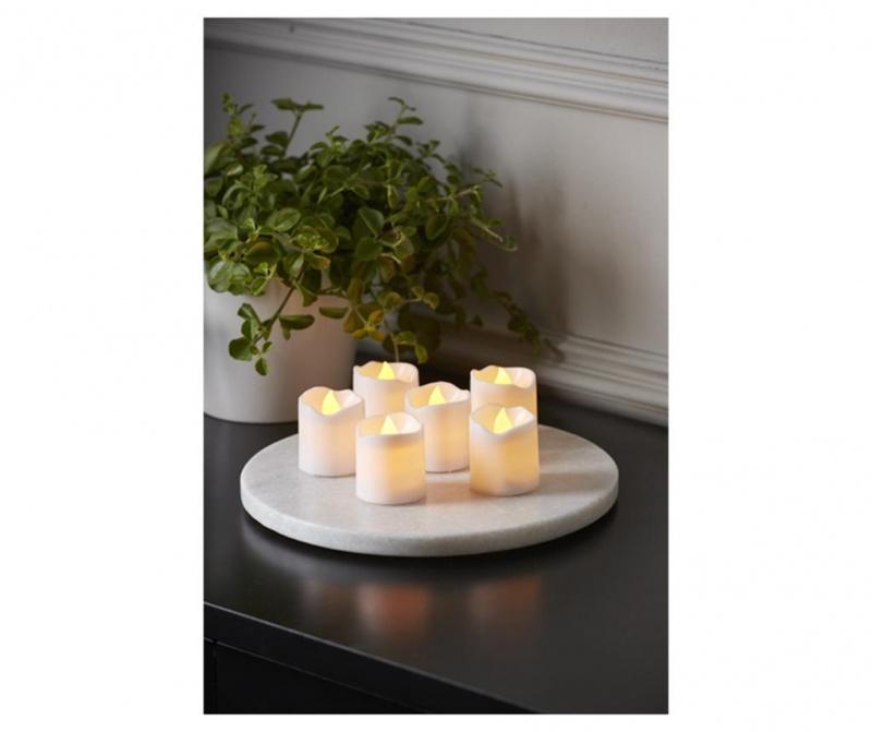 Set 6 LED sveč Packy