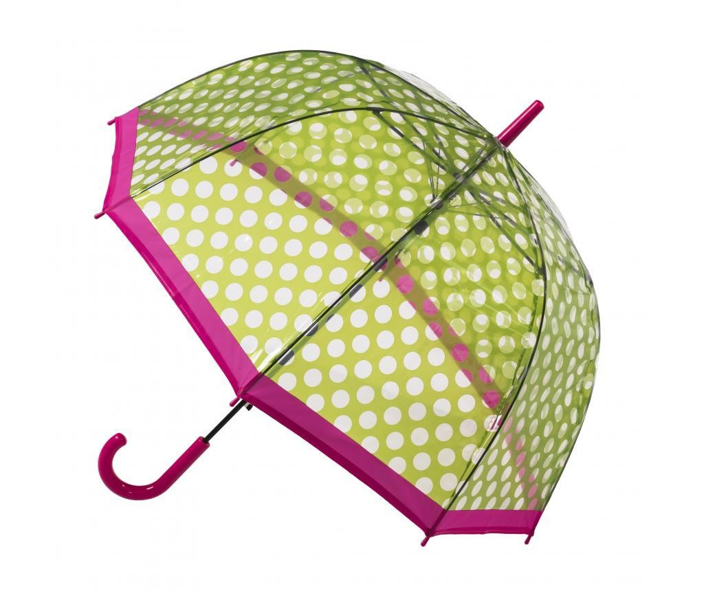 Dežnik Dome Spots Green/Pink