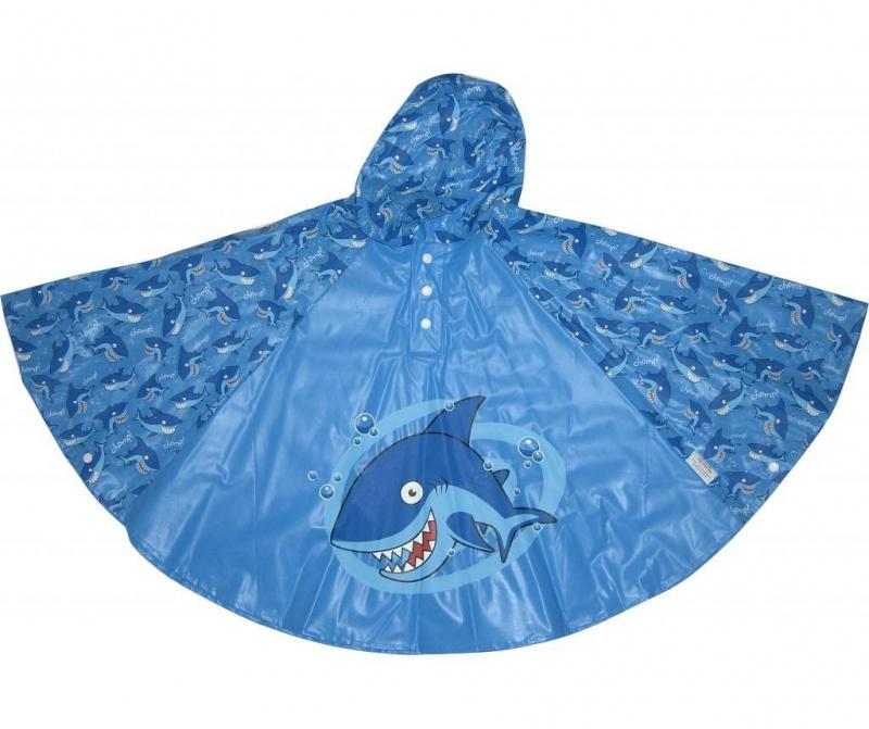 Pončo za otroke Shark 3-6 let