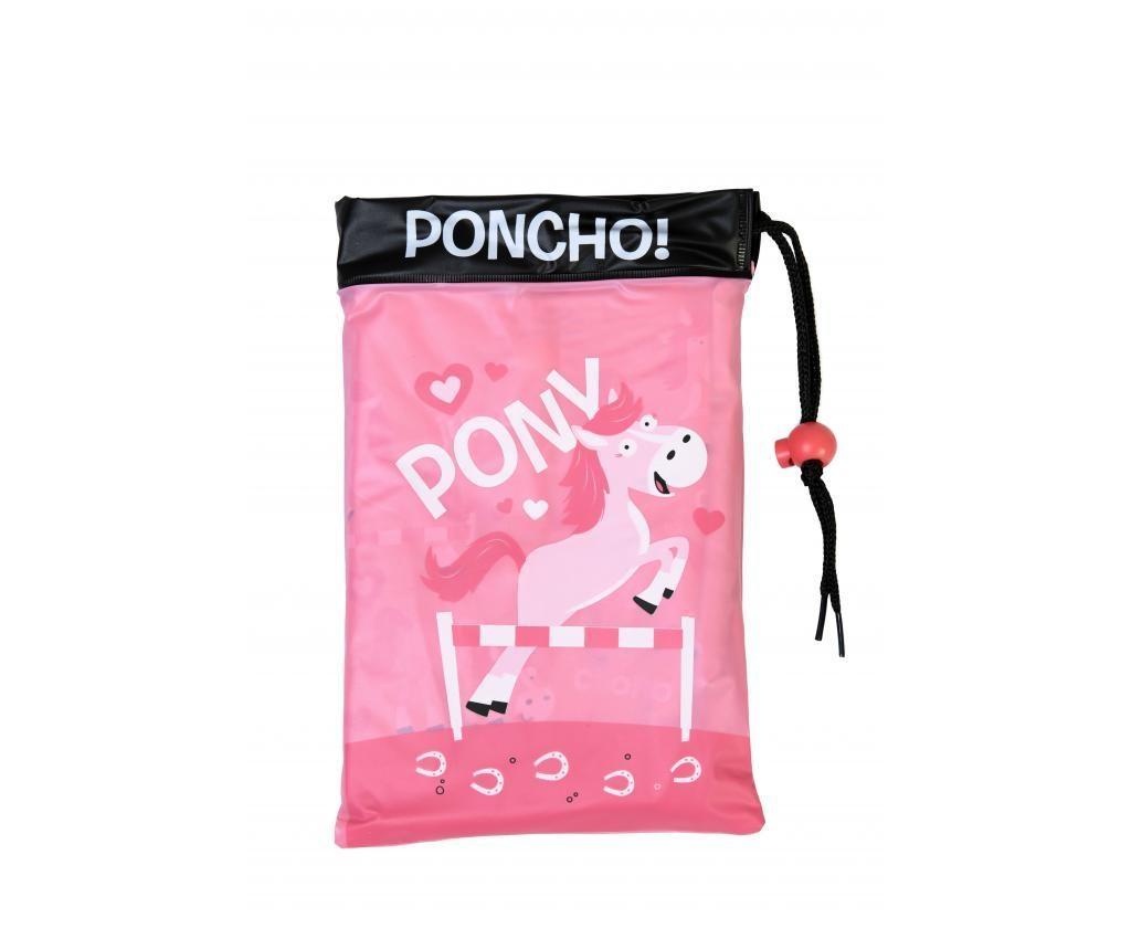 Pončo za otroke Pony 3-6 let