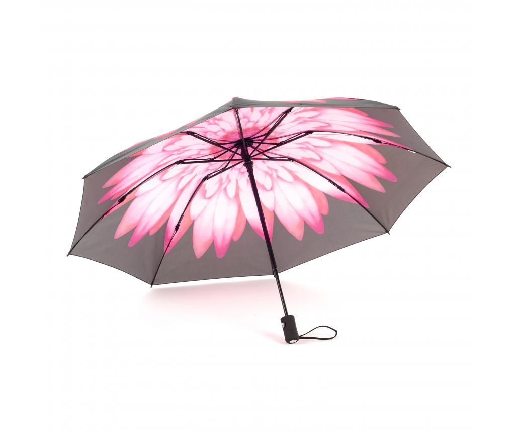 Dežnik Reverse Daisy Pink