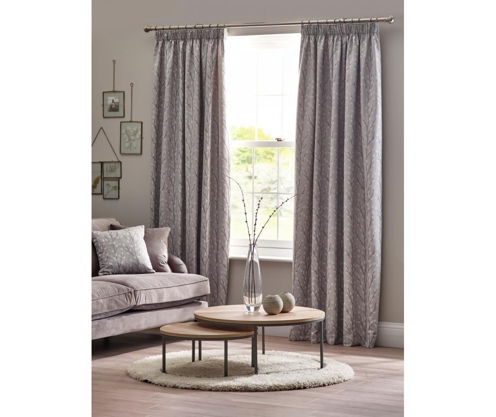 Set 2 zavjese Sienna Grey 229x229 cm