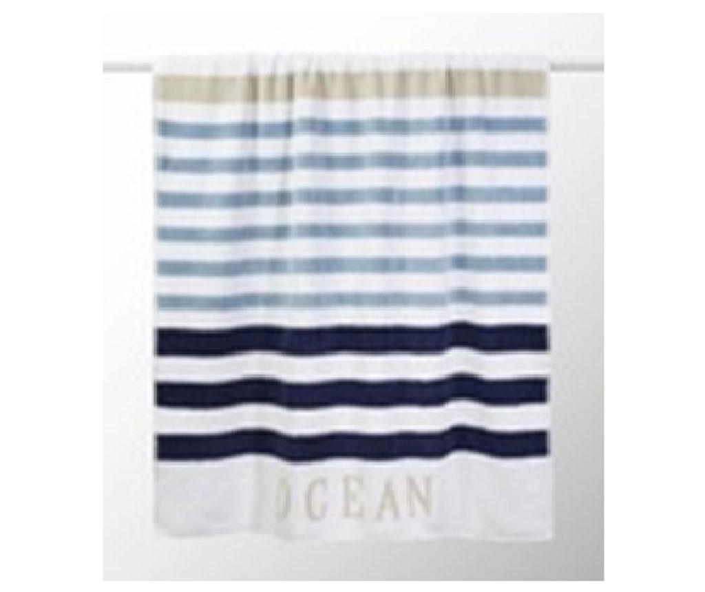 Kopalniška brisača Nordic Aqua 70x140 cm