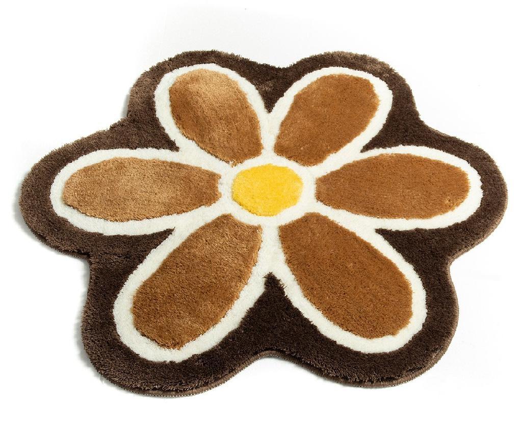 Kupaonski tepih Flower Coffee 90 cm