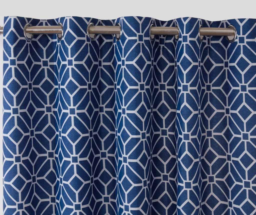 Kelso Blue 2 db Függöny 168x183 cm