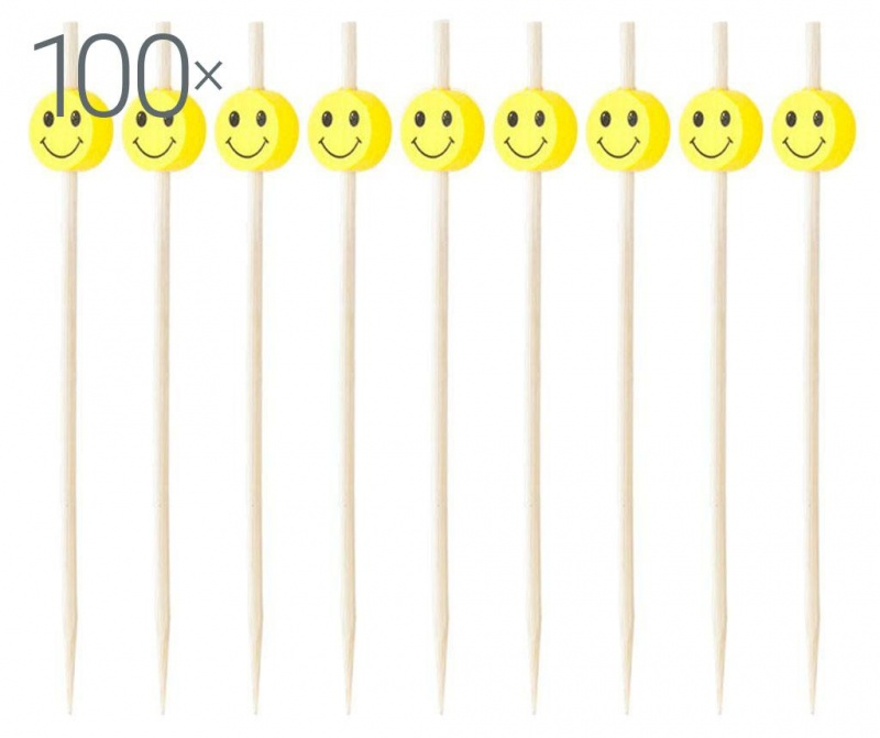 Set 100 nabodal za prigrizke Smiley