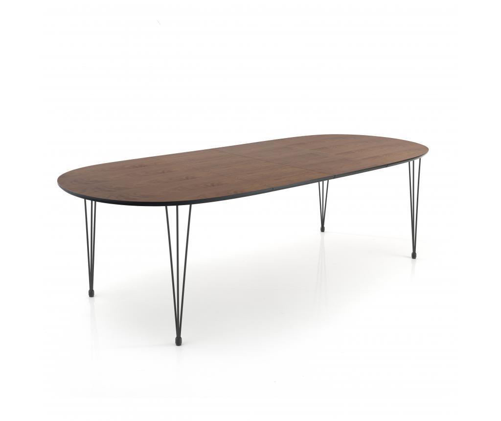 Stol na razvlačenje Elegant Dark Wood