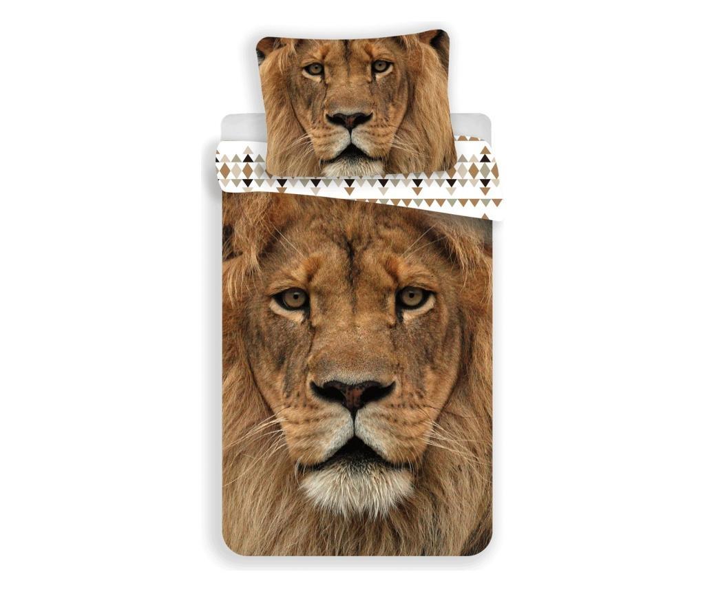 Lion King Egyszemélyes Ranforce ágynemű