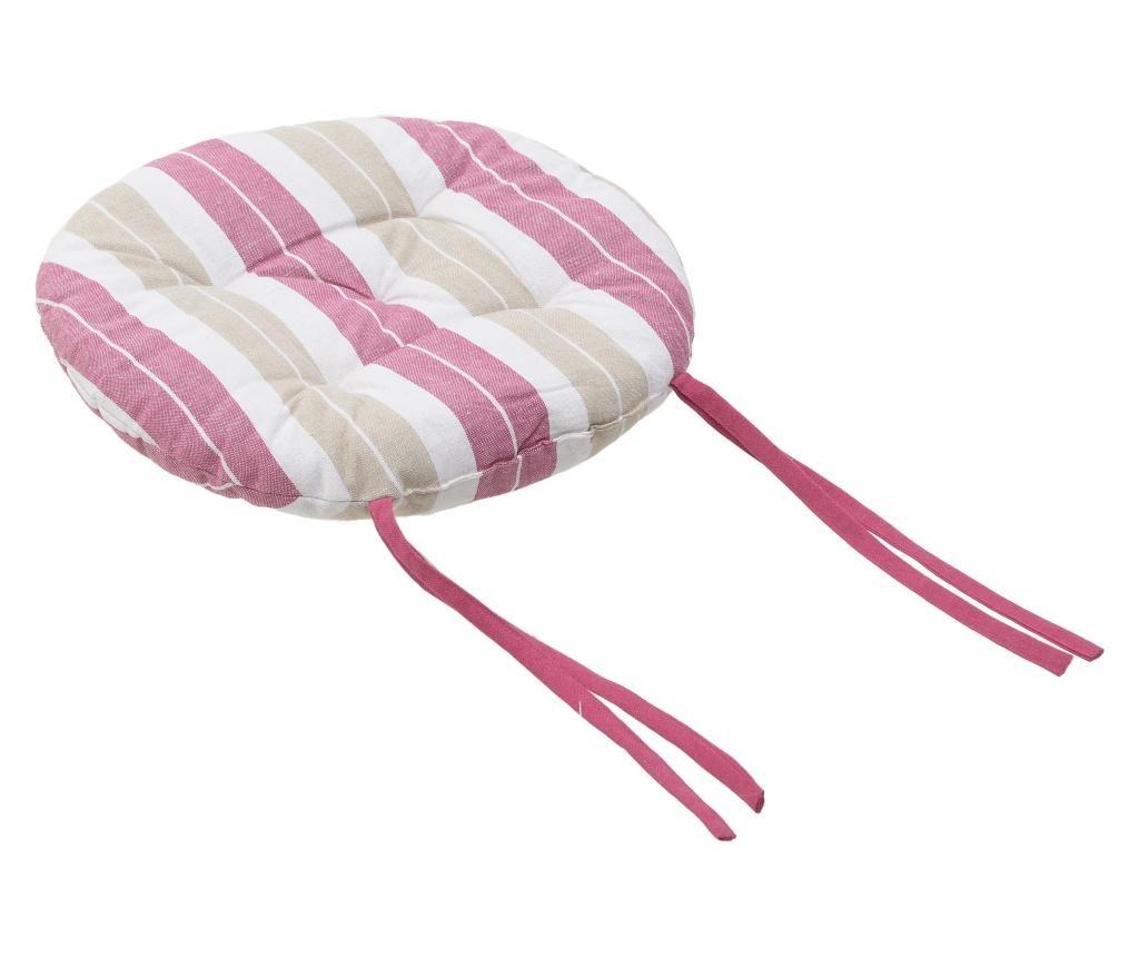Sedežna blazina Lines Pink 40 cm