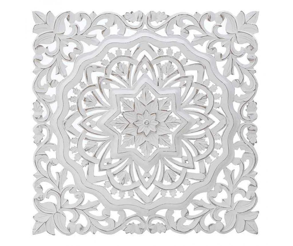 Antique White Panel Fali dekoráció