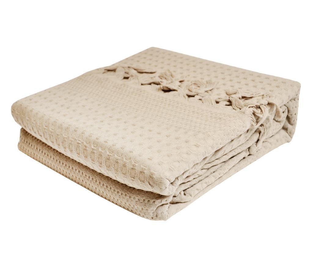 Prekrivač Pique Jesse Cream 220x240 cm