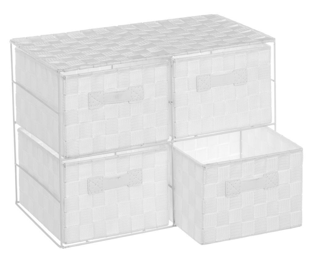 Dulapior cu 4 cosuri White Storage