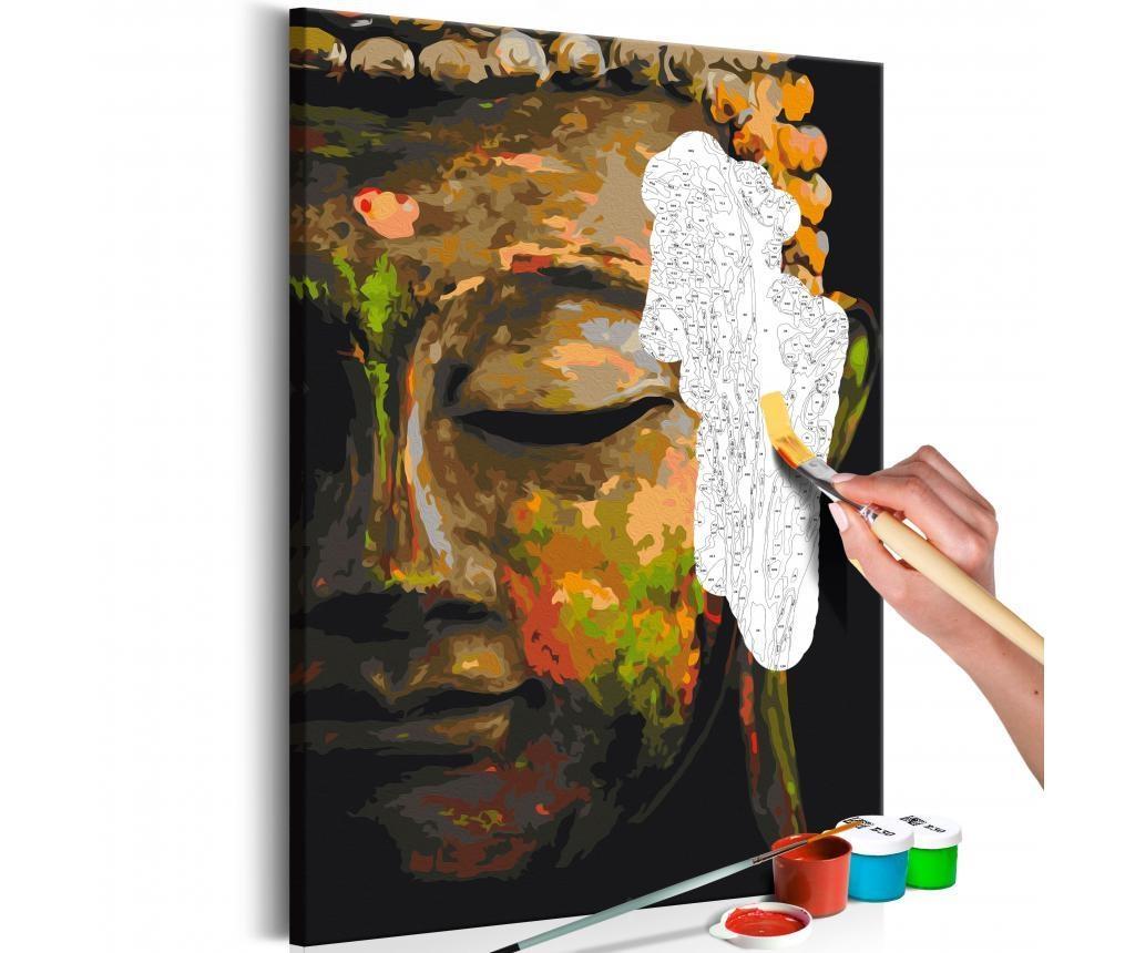 Buddha in the Shade DIY kanavász kép 40x60 cm