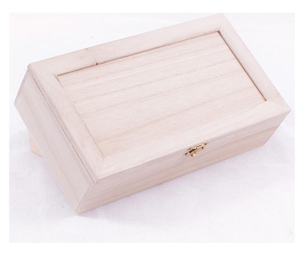 Cutie cu capac pentru ceai DIY Scatol