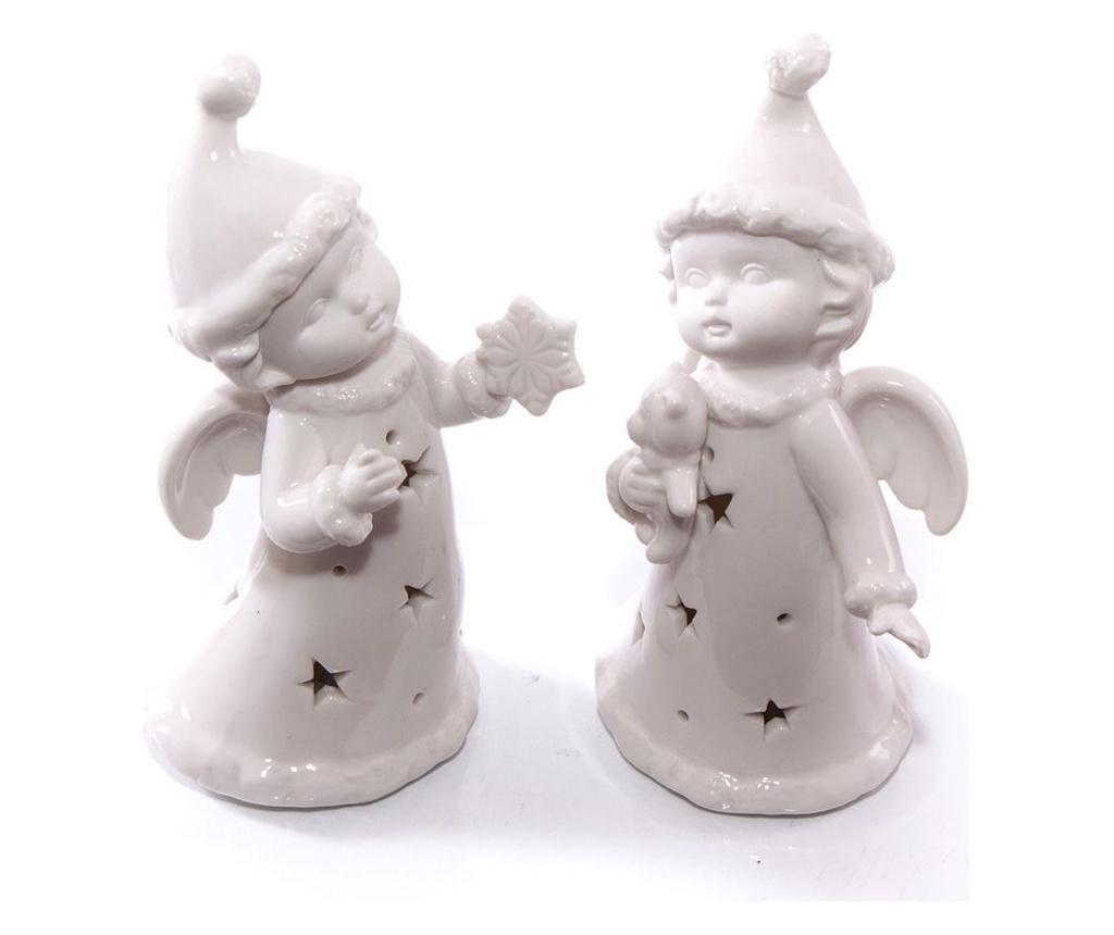 White Angels 2 darab Dekoráció