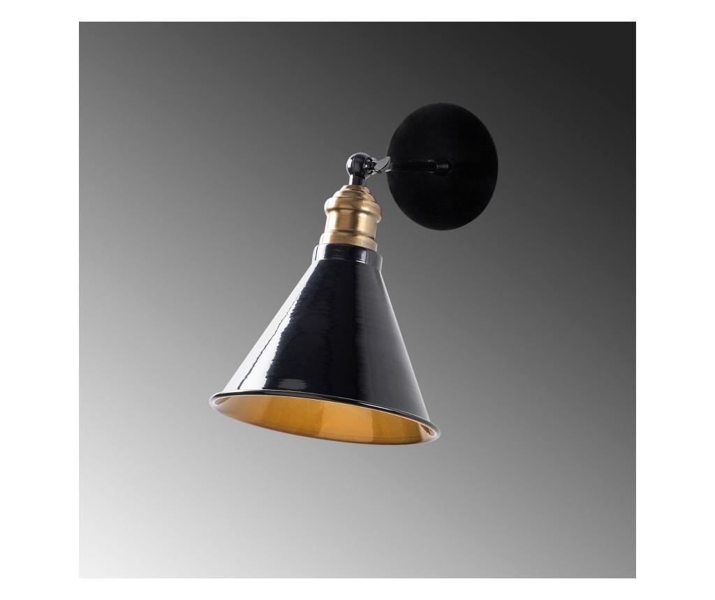 Zidna svjetiljka Berceste One Black