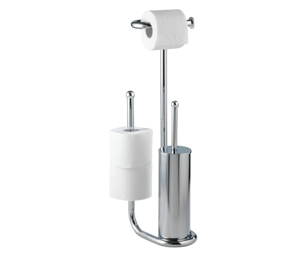 Wenko White WC-papír és kefe tartó