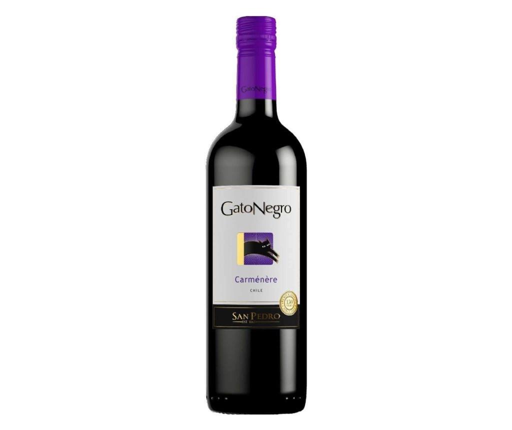 Vin rosu San Pedro Gato Negro Carmenere 750 ml