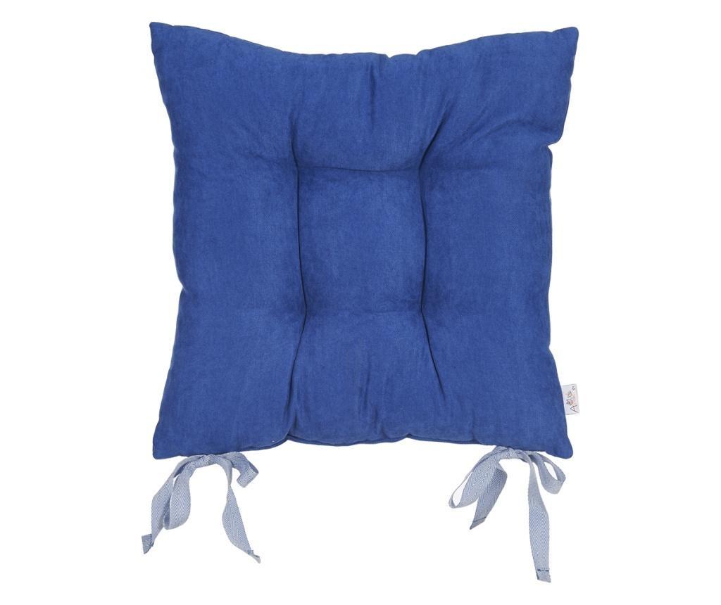 Jastuk za stolicu Bronx Dark Blue 37x37 cm