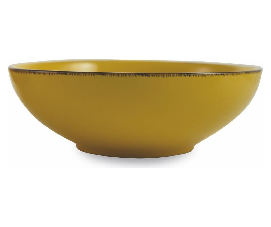 Set 2 boluri pentru salata Baita Yellow