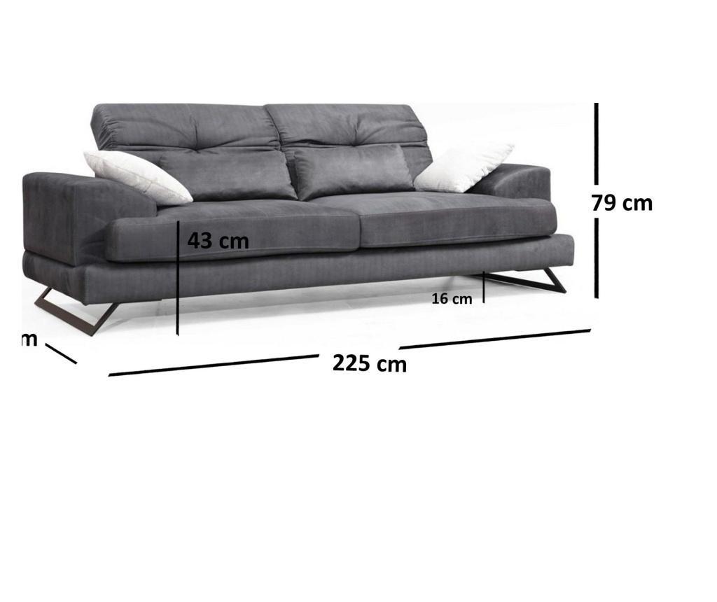 Frido Háromszemélyes kanapé