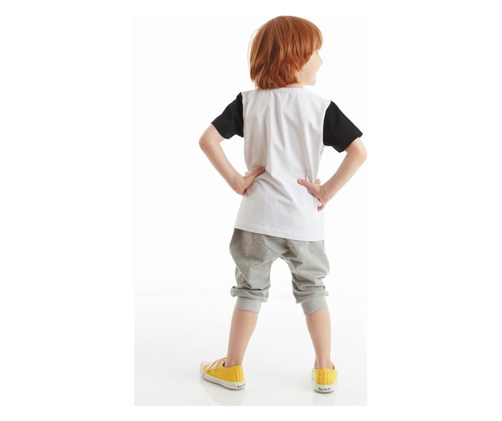 Set tricou si pantaloni pentru baieti C'mon 8 years