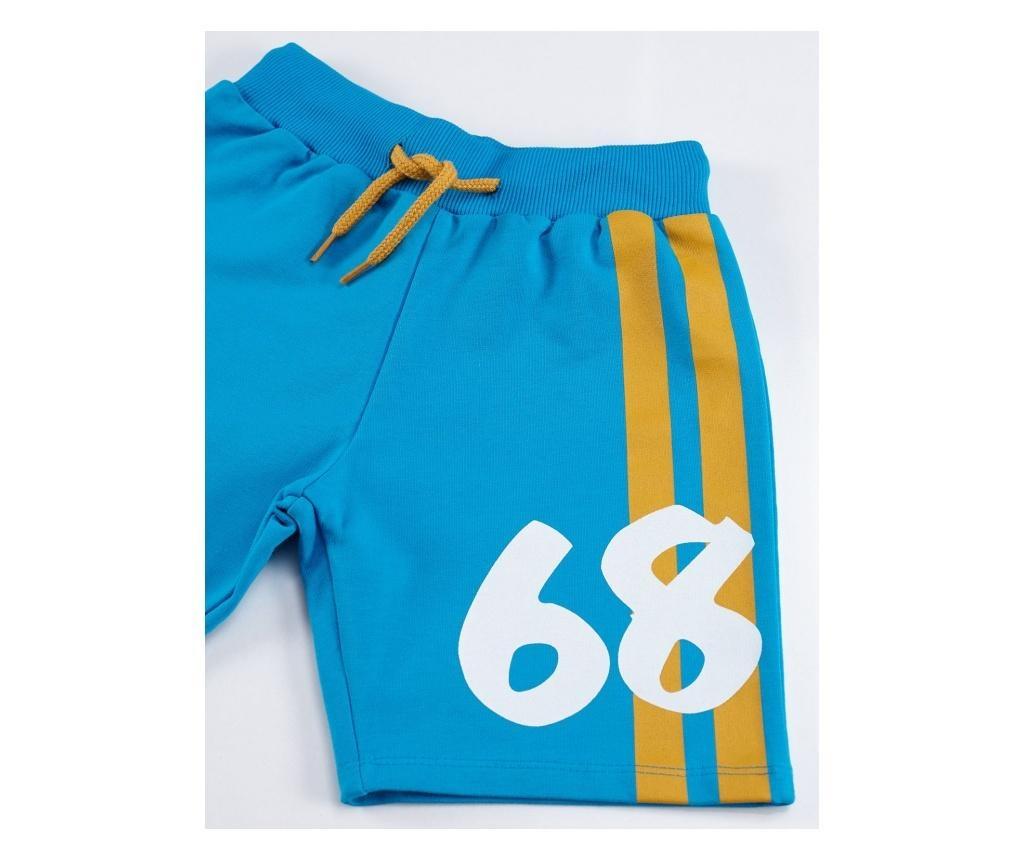 Set pantaloni scurti si tricou pentru baieti 68 Boy 5 years